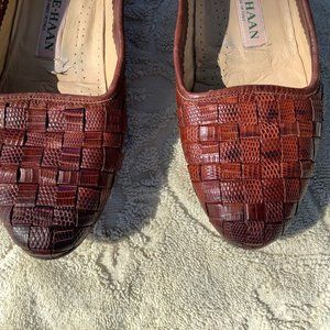 Vintage Cole Haan Woven Flats